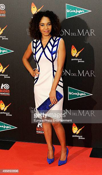 Montse Pla attends 'In The Heart Of The Sea' on December 3 2015 in Madrid Spain
