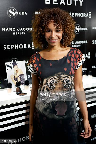 Montse Pla attends 'Sephora Loves Marc Jacobs' party at Sephora store on October 6 2014 in Madrid Spain