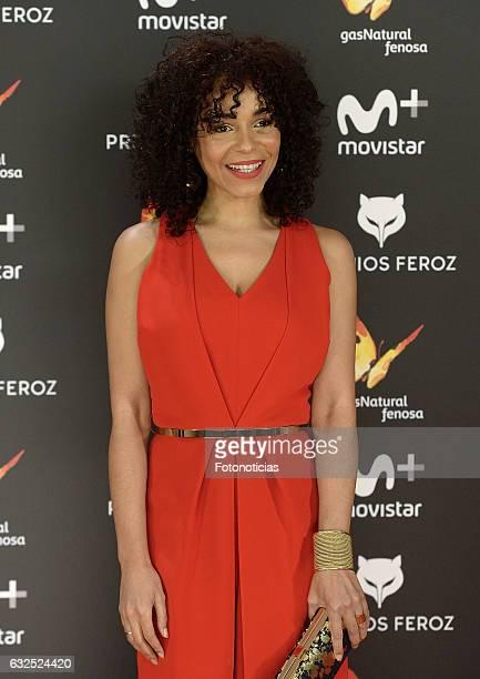 Montse Pla attends the 2016 Feroz Awards ceremony at the Palacete de los Duques de Pastrana on January 23 2017 in Madrid Spain