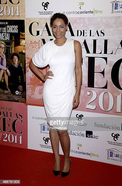 Montse Pla attends the 'CEC' medals 2014 ceremony at the Palafox cinema on February 3 2014 in Madrid Spain