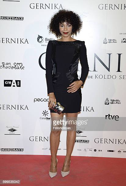 Montse Pla attends the 'Gernika' premiere at Palafox cinema on September 5 2016 in Madrid Spain