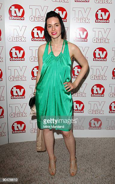Montserrat Lombard attends the TV Quick Tv Choice Awards at The Dorchester on September 7 2009 in London England