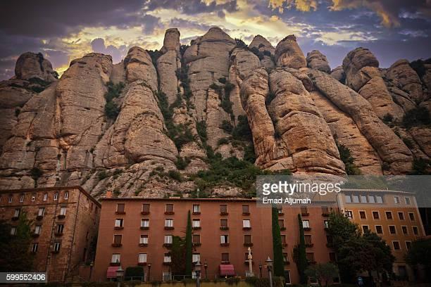 Montserrat Mountain in Catalonia, Spain
