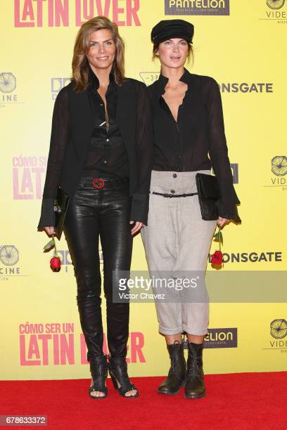 Montserrat Oliver attends the How To Be A Latin Lover Mexico City premiere at Teatro Metropolitan on May 3 2017 in Mexico City Mexico