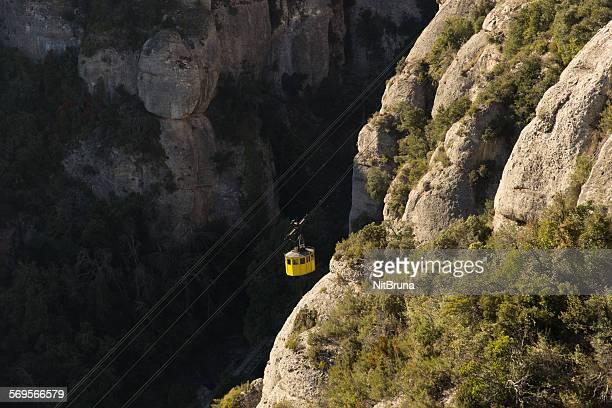 Montserrat round shaped mountains
