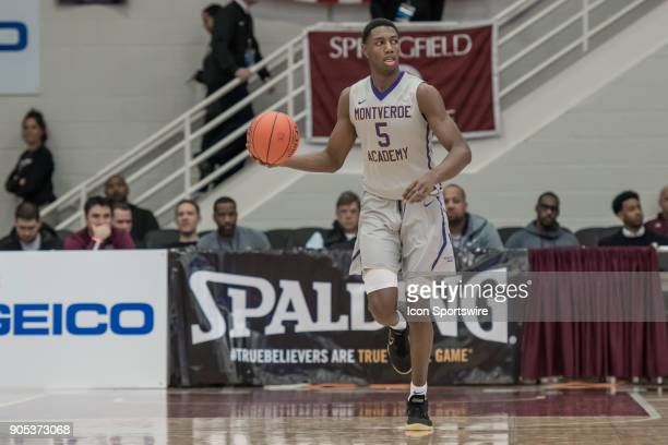 Montverde Academy Eagles guard RJ Barrett during the second half of the Spalding Hoophall Classic high school basketball game between the Montverde...