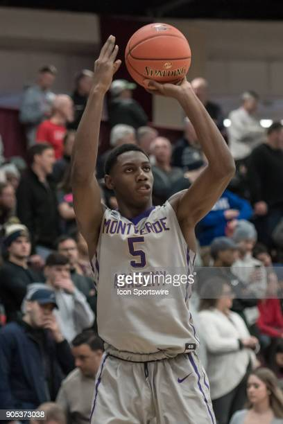 Montverde Academy Eagles guard RJ Barrett shoots the ball during the second half of the Spalding Hoophall Classic high school basketball game between...