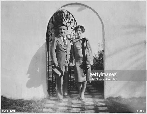 Monty Banks and Jean Arthur