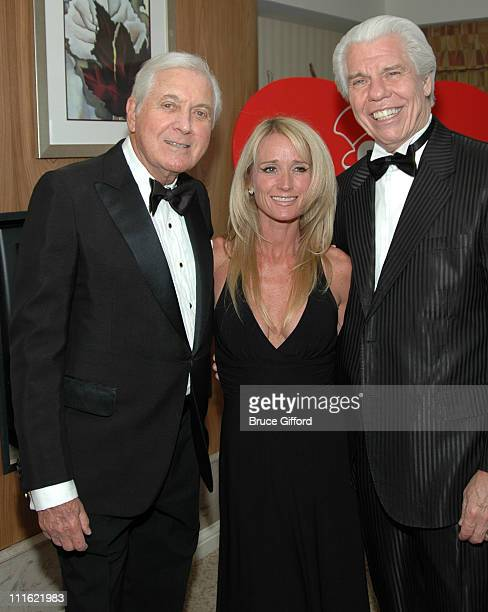 Monty Hall Kim Richards and William Austin during Variety International The Children's Charity Honors William Austin as Humanitarian Of The Year at...