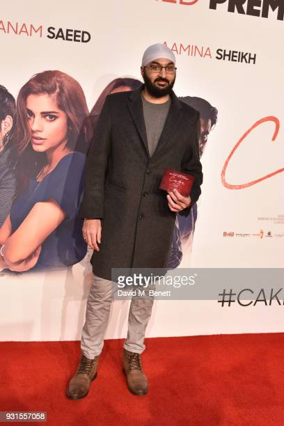 Monty Panesar attends the UK Premiere of 'Cake' at the Vue West End on March 13 2018 in London England