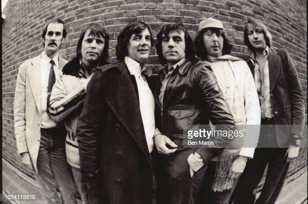 Monty Pythons John Cleese Terry Gilliam Michael Pail Terry Jones Eric Idle Graham Chapman Los Angeles May 16th 1975