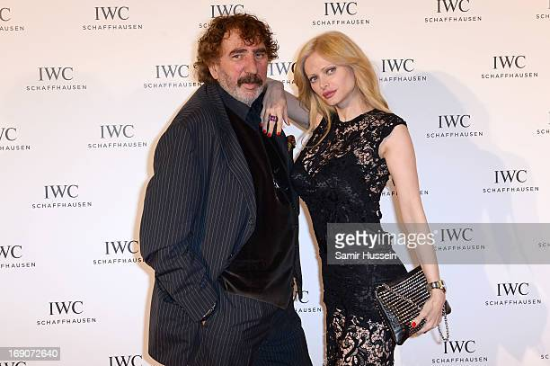 Monty Shadow and Audrey Tritto attend the exclusive For The Love Of Cinema event hosted by Swiss luxury watch manufacturer IWC Schaffhausen at the...