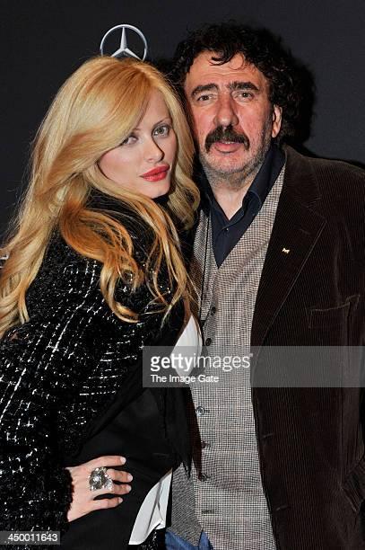 Monty Shadow and Audrey Tritto attend the MercedesBenz Fashion Days Zurich 2013 on November 15 2013 in Zurich Switzerland