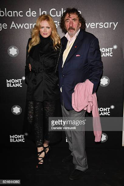 Monty Shadow attends Montblanc Arts Patronage Award 25th Anniversary Gala Diner at Palazzo Polignac on April 26 2016 in Venice