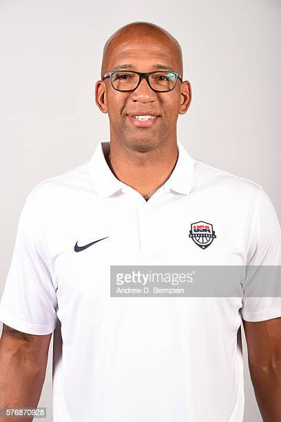 Monty Williams of the USA Basketball Men's National Team poses for a headshot at the Wynn Las Vegas on July 17 2016 in Las Vegas Nevada NOTE TO USER...