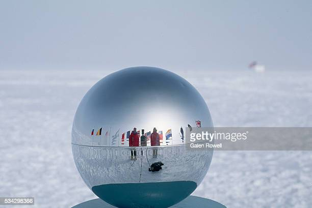 Monument at South Pole