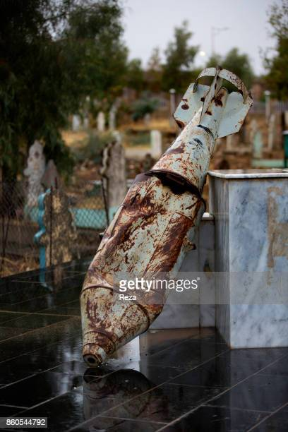 Monument commemorating the Halabja massacre a chemical attack that was perpetrated against the civilians of Halabja as part of Saddam Hussein's...