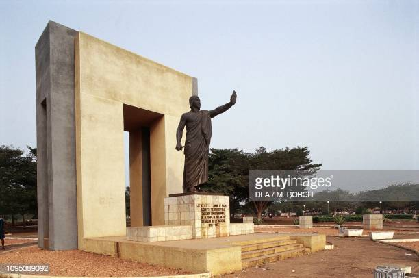 Monument dedicated to King Behanzin Abomey Benin