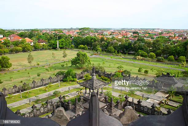 uptd monument, denpasar, bali - denpasar stock pictures, royalty-free photos & images