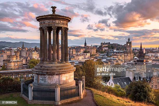Monument, Edinburgh, Calton Hill, Scotland