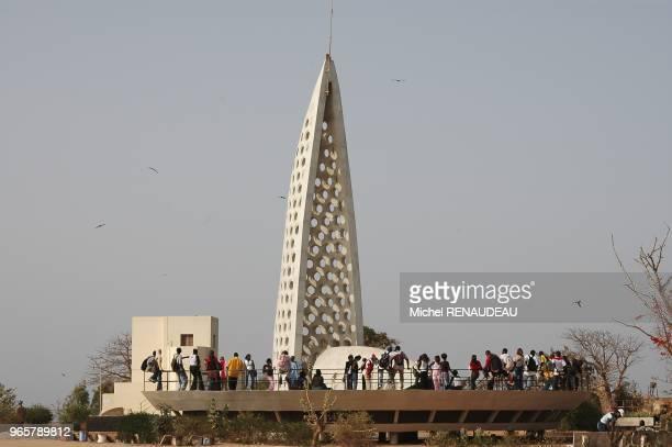 Monument en mémoire de l'esclavage sur le Castel partie haute de l'ile Monument en mémoire de l'esclavage sur le Castel partie haute de l'ile