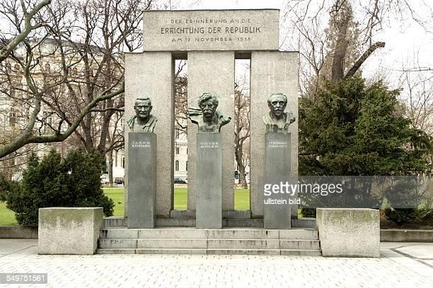 Monument establishing the Austrian Republic