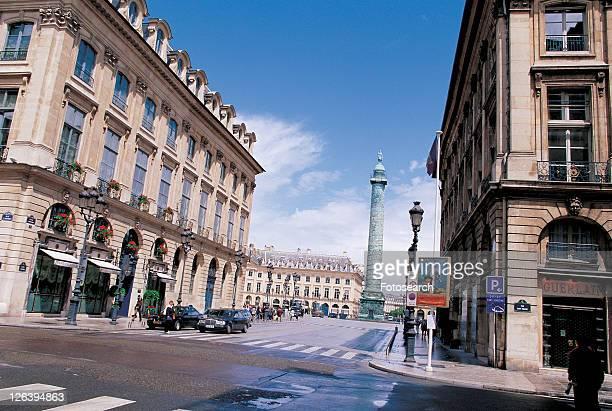 monument, grand, travel, building, european, lamp posts, structure