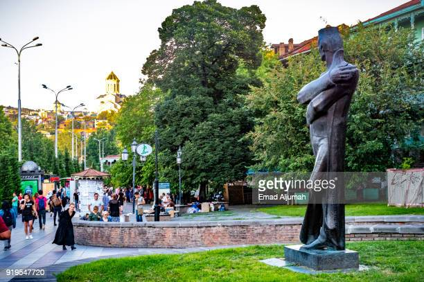 Monument in Tbilisi, Georgia