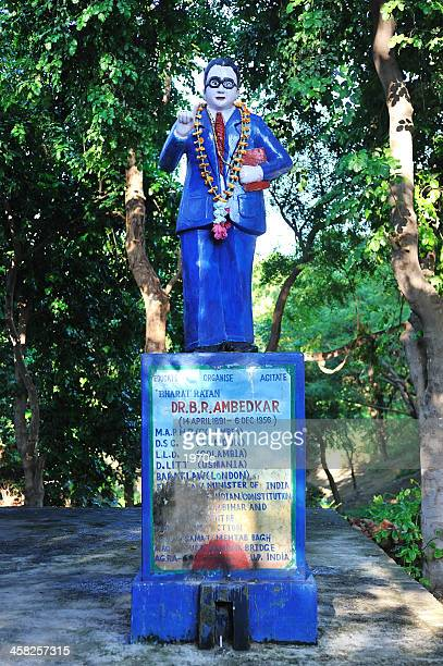 monument of dr. b. r. ambedkar - b.r. ambedkar stock pictures, royalty-free photos & images