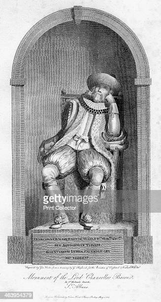 Monument of Sir Francis Bacon St Michael's Church St Albans Hertfordshire 1806 English philosopher scientist and statesman Sir Francis Bacon served...
