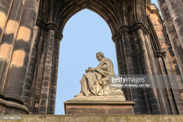 Monument of Sir Walter Scott, Princes Street Gardens, Edinburgh, Scotland