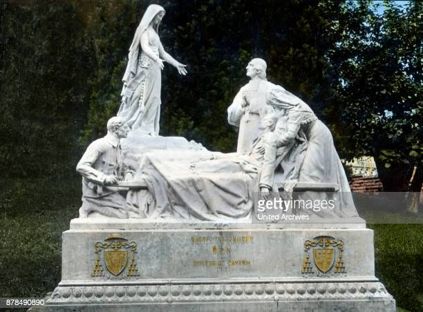 Monument of the sick at Lourdes