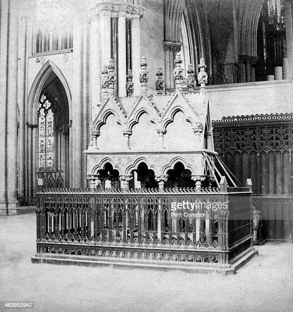 Monument of Walter de Grey York Minster York North Yorkshire early 20th century Walter de Gray was an English prelate and statesman who rose to be...