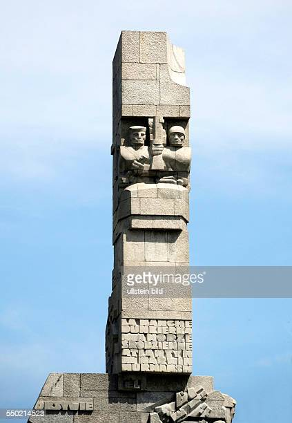 Monument on the Westerplatte in memory of the Polish defenders of Gdansk