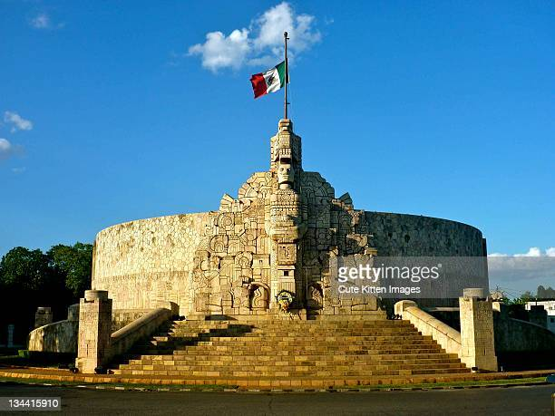 monument - merida mexico stock photos and pictures