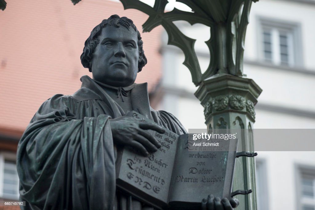 500 years ago on 31 October 1517, Martin Luther posted his 95 Theses on the door of the Castle Church in Wittenberg, an event which would lead to the creation of Protestant Christianity