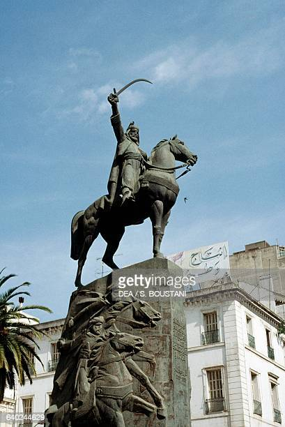 Monument to AbdElKader Algerian politician and soldier Algiers Algeria