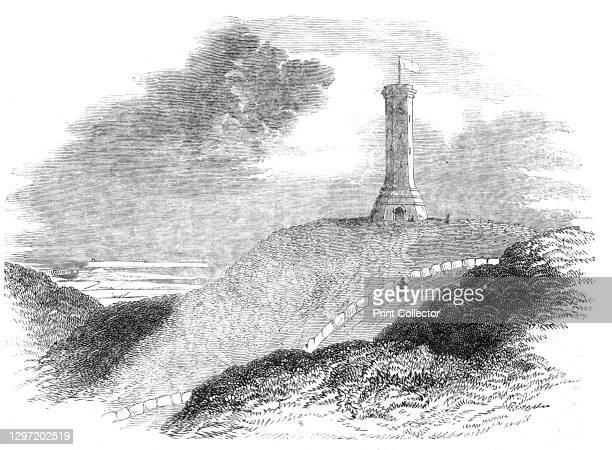 Monument to Admiral Sir Thomas Hardy, on Blagdon Hill, 1844. The Hardy Monument, on the summit of Black Down in Dorset, was erected by public...