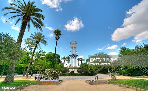 Monument to Christopher Columbus, Jardines de Murillo, Seville (Spain)