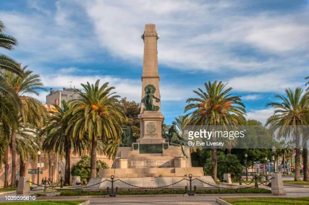 monument to fallen soldiers - murcia - fotografias e filmes do acervo