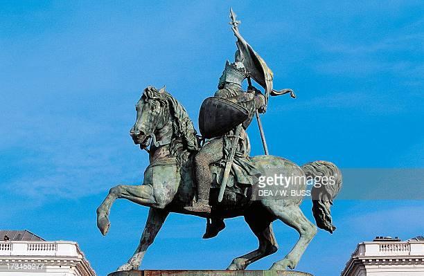 Monument to Godfrey of Bouillon, Brussels, Belgium.