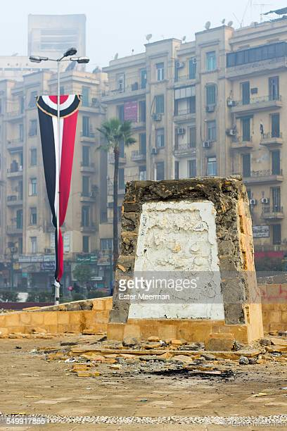 A monument to honour the martyrs of the Egyptian revolution was destroyed on 19 November 2013 because the monument was also meant to pay tribute to...