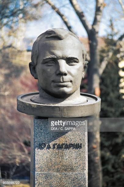 Monument to Jury Alekseevic Gagarin Irkutsk Siberia Russia