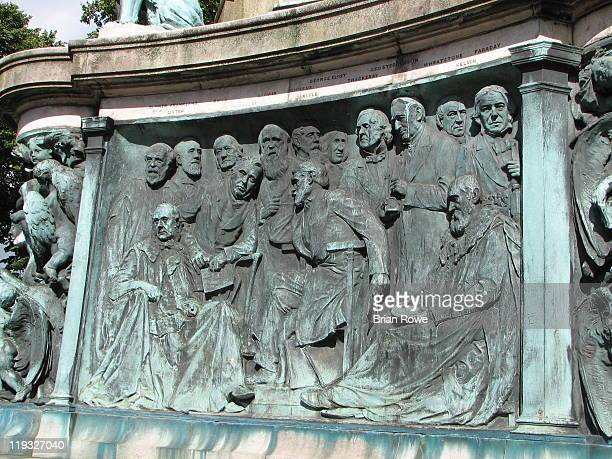 Monument to Queen Victoria The monument was a gift from Lord Ashton to the City of Lancaster in 1906 The imagine records one of the panels at the...