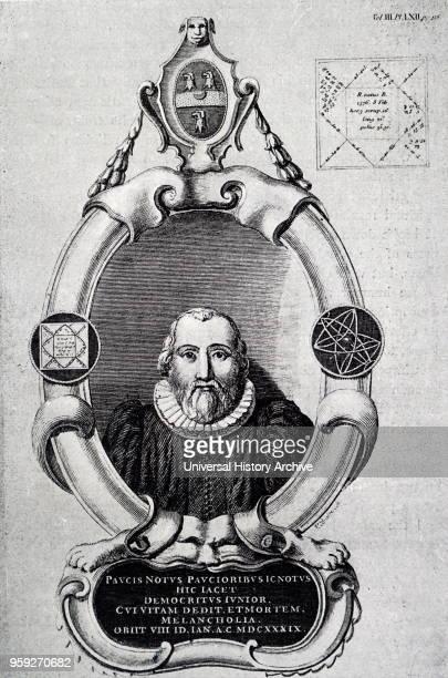 Monument to Robert Burton an English scholar at Oxford University Dated 17th century