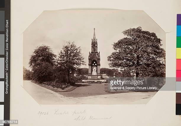 Monument to textiles industrialist Titus Salt Photograph by Frith Co Francis Firth was a pioneer travel photographer His work was published in a...