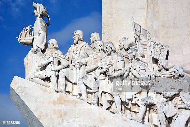 monument to the discoveries - portuguese culture stock pictures, royalty-free photos & images