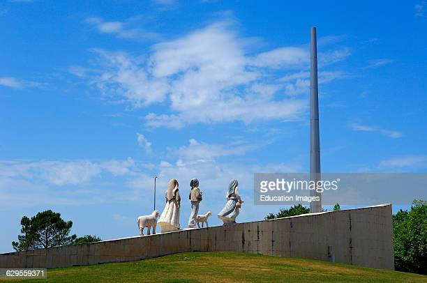 Monument to the three little shepherds Fatima Estremadura Portugal
