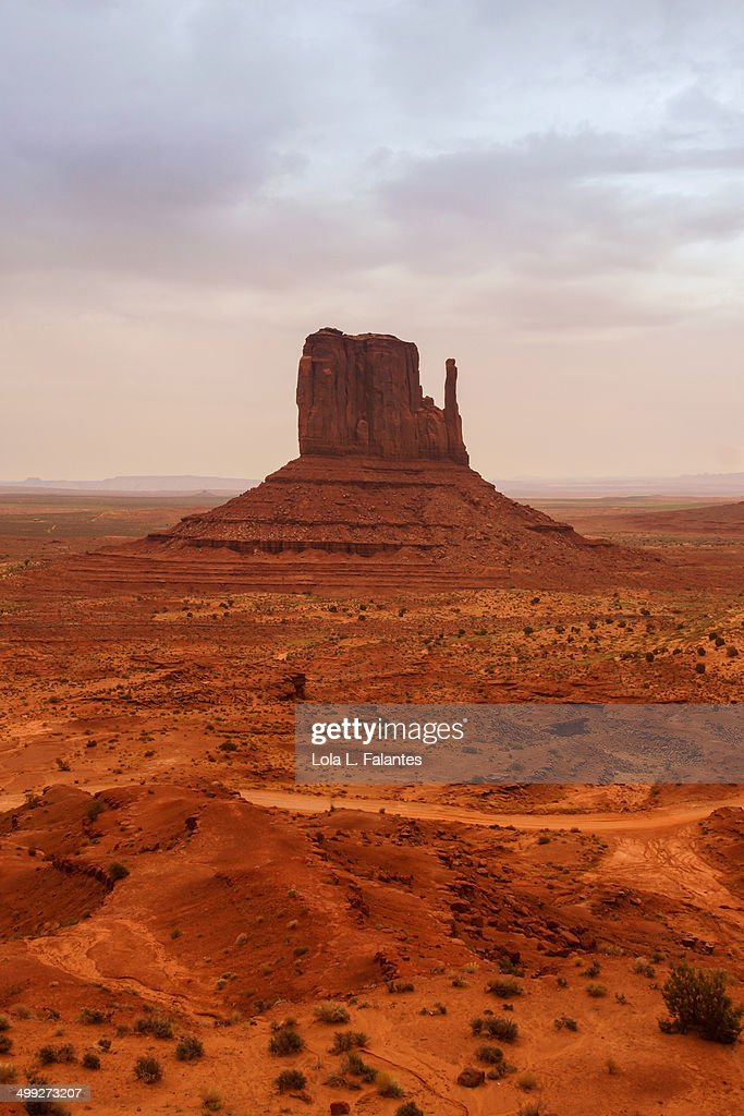 Monument Valley Butte : Stock-Foto