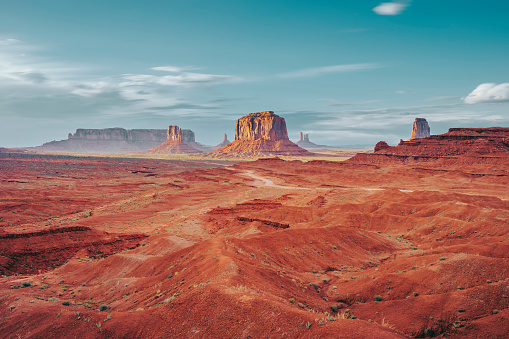 Monument Valley during a sunny day 1162401819
